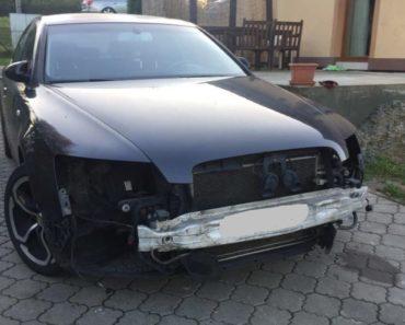 15.1.2019 Dražba automobilu Audi A6 4F. Vyvolávací cena 5.000 Kč.