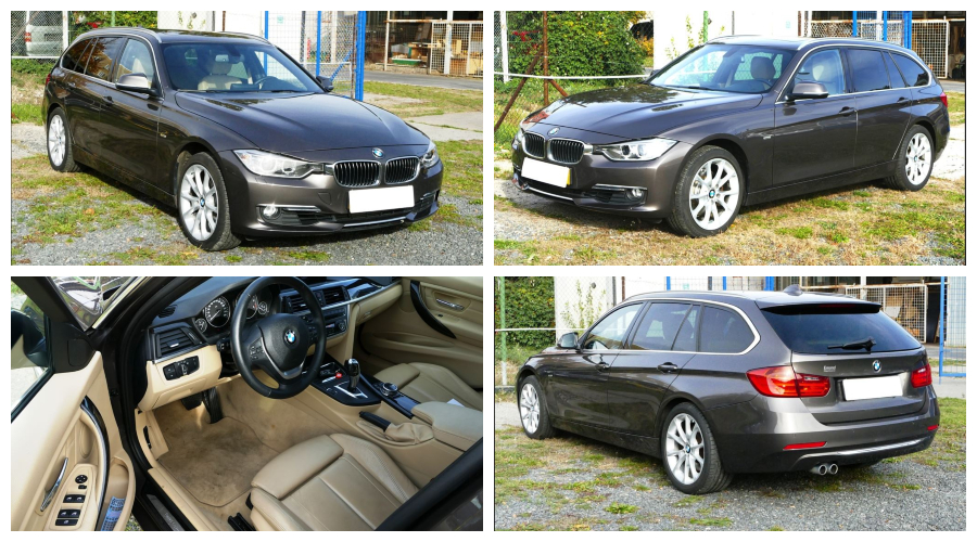 Do 23.12.2018 Aukce automobilu BMW 330XDrive, kombi. Vyvolávací cena 394.000 Kč.