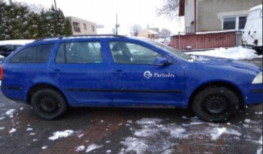 Do 14.1.2019 Výběrové řízení na prodej automobilu Škoda Octavia, kombi, 4x4. Minimální kupní cena 90.000 Kč.