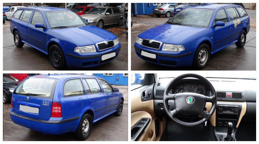 Do 3.2.2019 Aukce automobilu Škoda Octavia kombi TDi 1.9. Vyvolávací cena 18.800 Kč.