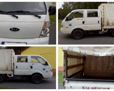 Do 11.2.2019 Výběrové řízení na prodej automobilu Kia K 2500 II TCi. Minimální kupní cena 33.162 Kč.