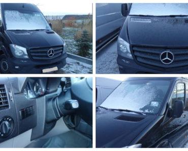 Do 6.2.2019 Aukce automobilu Mercedes Benz Sprinter 316 CDi. Vyvolávací cena 480.000 Kč.