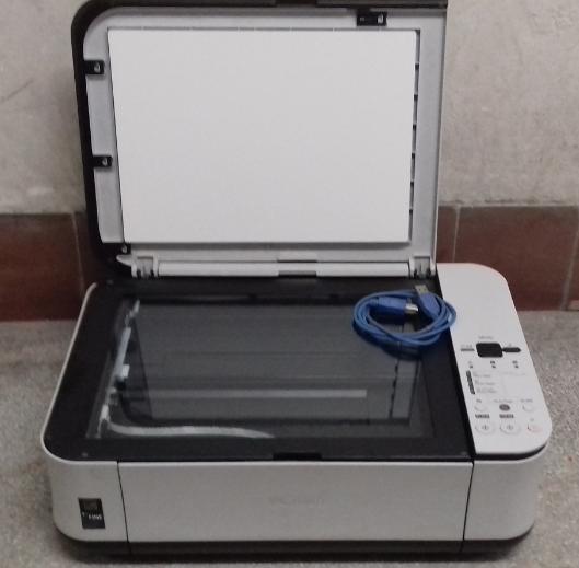30.1.2019 Dražba tiskárny Canon. Vyvolávací cena 500 Kč.