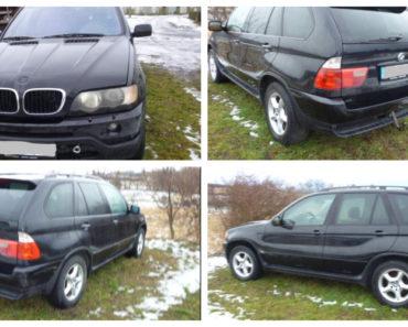 18.2.2019 Dražba automobilu BMW X5 3.0 D. Vyvolávací cena 18.000 Kč.