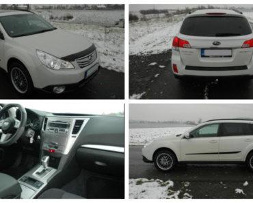 Do 4.2.2019 Aukce automobilu Subaru Outback 2.5. Vyvolávací cena 220.000 Kč.