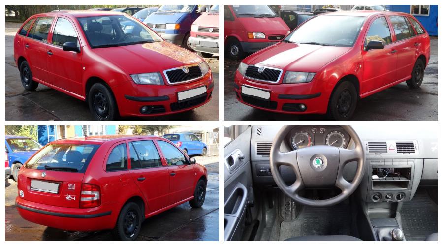 Do 3.2.2019 Aukce automobilu Škoda Fabia 1.4 /2/. Vyvolávací cena 18.800 Kč.
