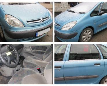 26.2.2019 Dražba automobilu Citroën Xsara Picasso. Vyvolávací cena 10.000 Kč.
