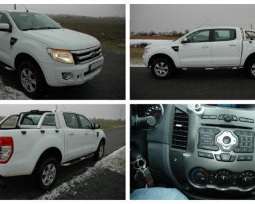 Do 22.2.2019 Aukce automobilu Ford Ranger 2.2 110 kW D. Vyvolávací cena 389.000 Kč.