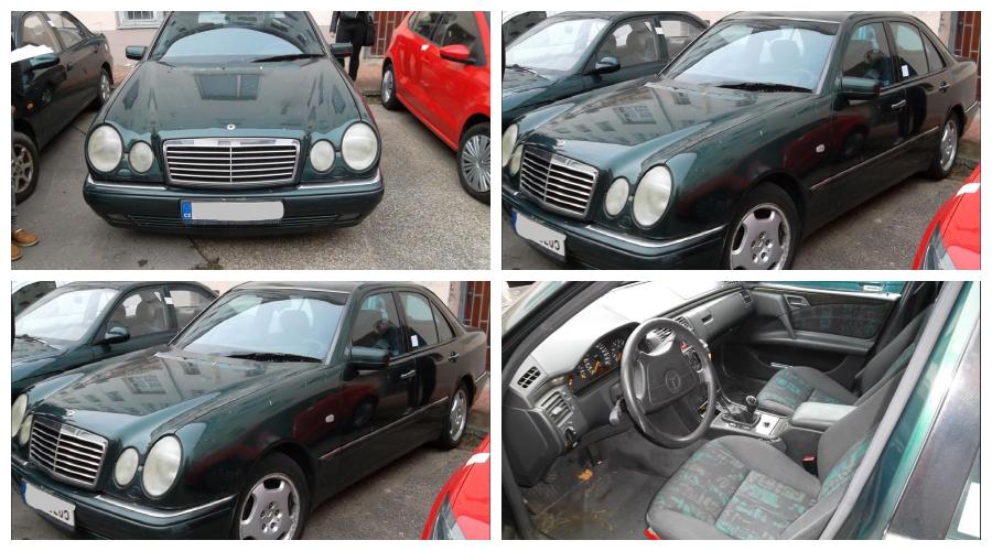 Dražby Automobilů - Mercedes Benz E 280