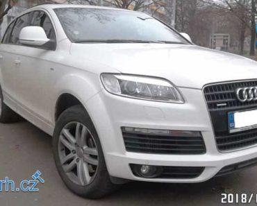 29.1.2019 Dražba automobilu AUDI Q7 176 kW. Vyvolávací cena 90.000 Kč, ID437333