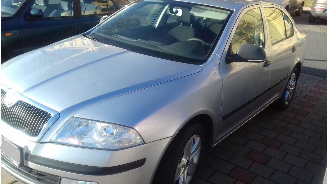 14.2.2019 Dražba automobilu Škoda Octavia 1.6. Vyvolávací cena 55.000 Kč.