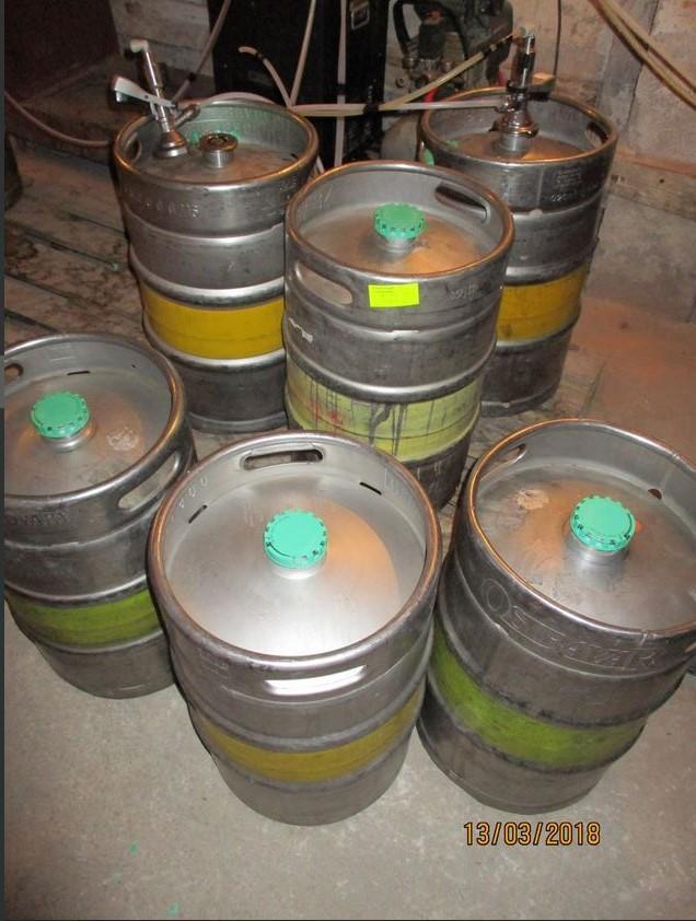 26.2.2019 Dražba vratných obalů na pivo. Vyvolávací cena 2.000 Kč.