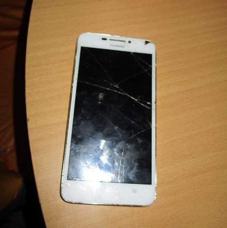 13.2.2019 Dražba mobilu značky HUAWEI – poškozený displej. Vyvolávací cena 200 Kč.