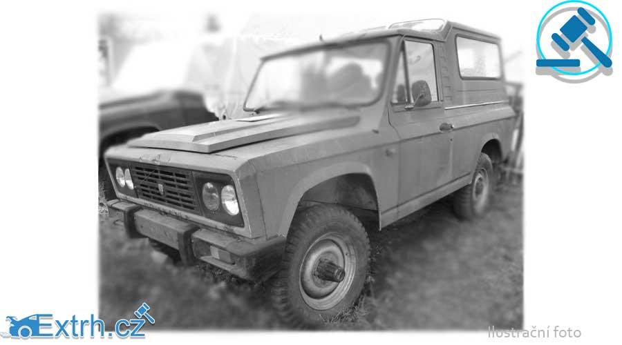 Do 23.1.2019 Výběrové řízení na prodej automobilu ARO. Min. kupní cena  - prodej nejvyšší nabídce Kč, ID438879