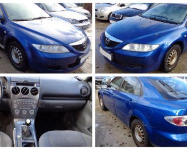 Ukončená Dražba automobilu Mazda 6, vydraženo za vyvolávací 1/3 cenu 14.000Kč 