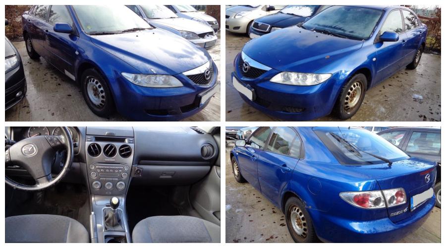 Ukončená Dražba automobilu Mazda 6, vydraženo za vyvolávací 1/3 cenu 14.000Kč 💙