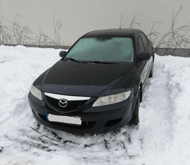 21.3.2019 Dražba automobilu Mazda 6. Vyvolávací cena 11.000 Kč.