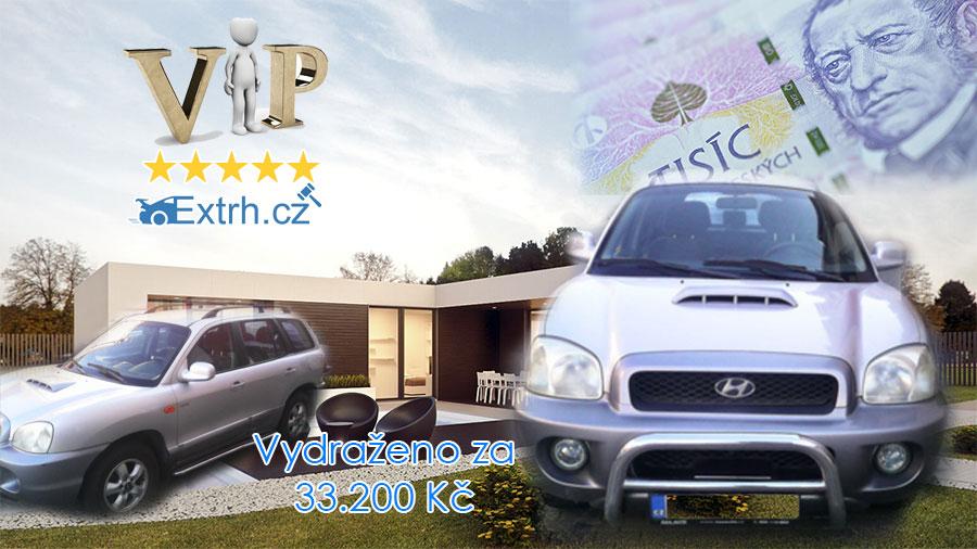 Dražba automobilu Hyundai Santa Fe 2.0 4×4, vydraženo za 33.200 Kč ⭐️⭐️⭐️⭐️⭐️