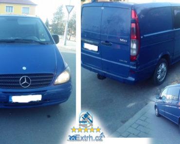 Dražba automobilu Mercedes Benz Vito 109 CDI, vydraženo za 57.000 Kč 
