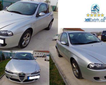 Dražba automobilu Alfa Romeo 147, vydraženo za 20.000 Kč 