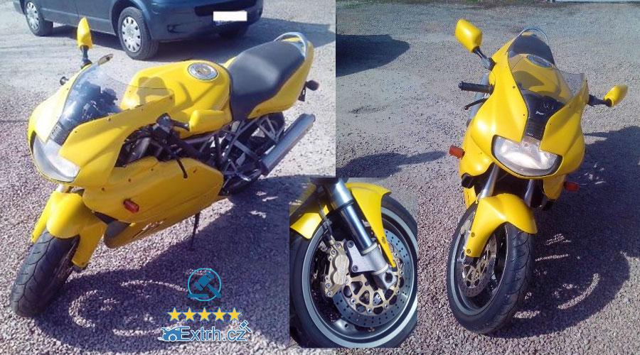 Dražba motocyklu DUCATI 750 SS, vydraženo za 37.400 Kč 