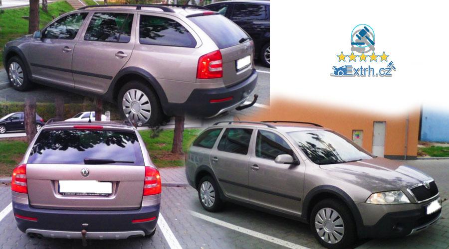 Dražba automobilu ŠKODA OCTAVIA SCOUT KOMBI 4X4 2.0TDI, vydraženo za 102.000 Kč 