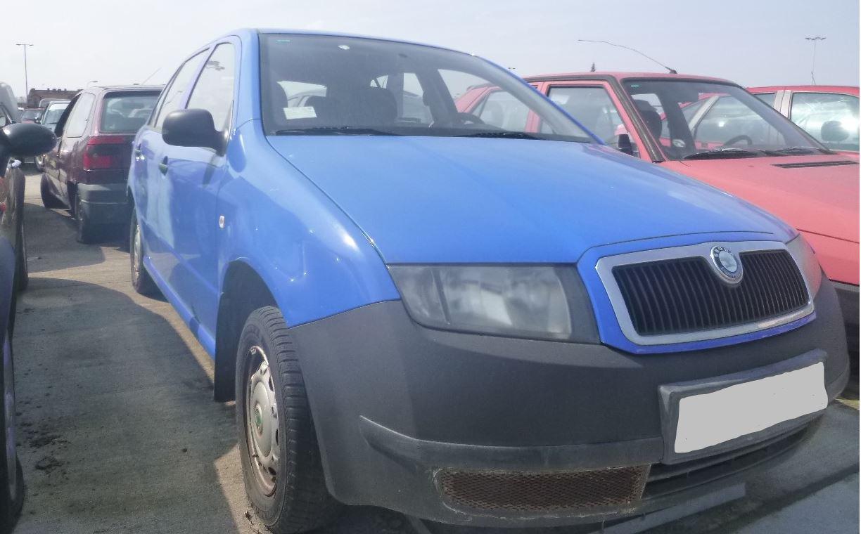30.5.2019 Dražba automobilu Škoda Fabia. Vyvolávací cena 300 Kč.