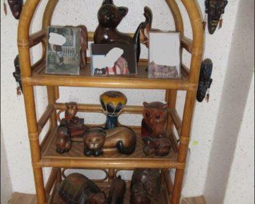24.6.2019 Dražba ratanového nábytku + dřevěné sošky 17 x. Vyvolávací cena 2.000 Kč.