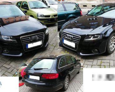 14.6.2019 Dražba automobilu AUDI A4 Avant. Vyvolávací cena 60.000 Kč