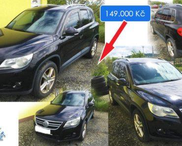 2.7.2019 Dražba automobilu VOLKSWAGEN TIGUAN. Vyvolávací cena 149.000 Kč, ID565830