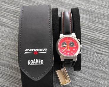 11.7.2019 Dražba pánských hodinek Roamer Power - vodotěsné. Vyvolávací cena 1.700 Kč.