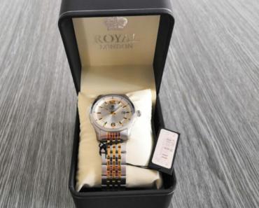 11.7.2019 Dražba hodinek Royal London - pánské. Vyvolávací cena 800 Kč.