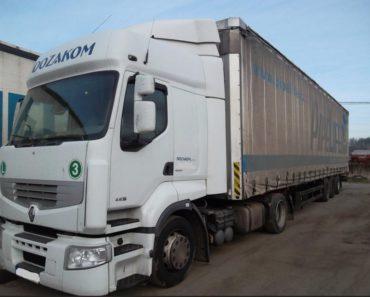 9.7.2019 Dražba nákladního automobilu Renault Premium DXI Route. Vyvolávací cena 58.500 Kč.