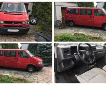 16.7.2019 Dražba automobilu VW Transporter. Vyvolávací cena 15.000 Kč, ID579551