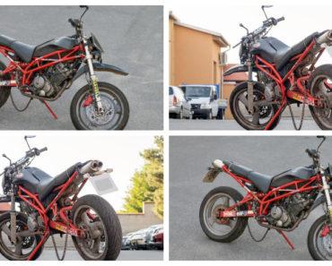 21.6.2019 Dražba motocyklu Sachs X-ROAD 679 A1. Vyvolávací cena 3.000 Kč.