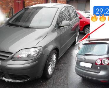 10.7.2019 Dražba automobilu Volkswagen Golf Plus. Vyvolávací cena 29.200 Kč, ID579830