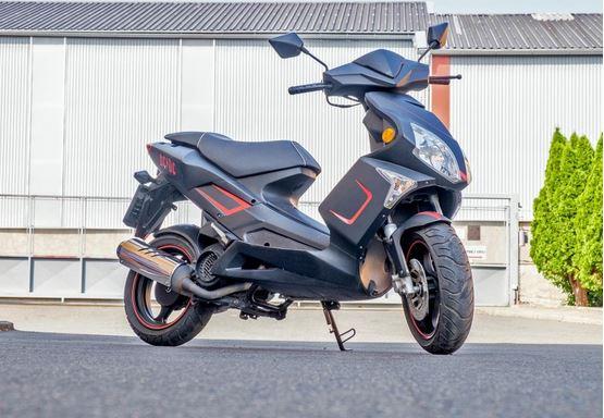 21.6.2019 Dražba motocyklu Pioneer XF125T-10R. Vyvolávací cena 5.000 Kč.