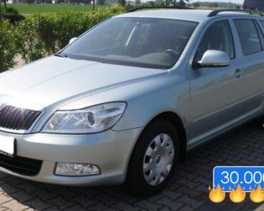31.7.2019 Dražba automobilu Škoda Octavia Combi 1.6MPI. Vyvolávací cena 30.000 Kč, ID579880