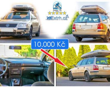 21.6.2019 Dražba automobilu VW Passat Variant. Vyvolávací cena 10.000 Kč.