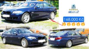 Do 30.6.2019 Aukce BMW 525 D XDRIVE. Vyvolávací cena 168.000 Kč, ID579769