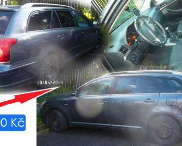 19.6.2019 Dražba automobilu TOYOTA AVENSIS Premium Active. Vyvolávací cena 33.000 Kč, ID568315