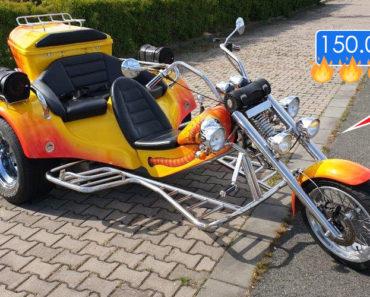25.6.2019 Aukce motocyklu - Tříkolka Rewaco. Vyvolávací cena 150.000 Kč, ID579897