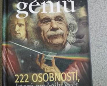 Do 27.6.2019 Aukce knihy Galerie géniů. Vyvolávací cena 20 Kč.