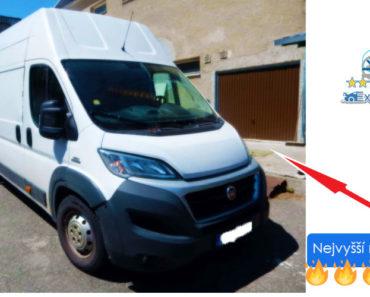 Do 30.6.2019 Výběrové řízení na prodej automobilu FIAT DUCATO maxi 35 L4H3 3.0 MTJ, odpočet DPH. Min. kupní cena - prodej nejvyšší nabídce Kč, ID578929