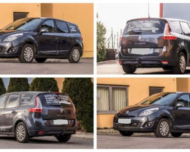 Do 19.7.2019 Výběrové řízení na prodej automobilu Renault Megane Scenic. Minimální kupní cena 60.000 Kč.