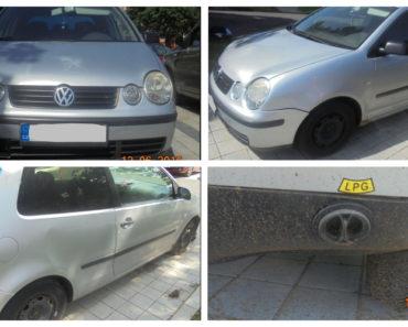 24.7.2019 Dražba automobilu VW Polo 1.2 LPG. Vyvolávací cena 2.500 Kč.
