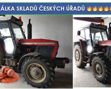 Do 18.7.2019 Výběrové řízení na prodej traktoru Zetor 10145. Min. kupní cena 102.713 Kč, ID580104
