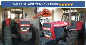Do 18.7.2019 Výběrové řízení na prodej traktoru Zetor 61145. Min. kupní cena 86.000 Kč, ID580146
