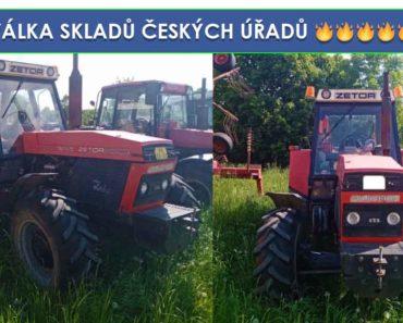 Do 18.7.2019 Výběrové řízení na prodej traktoru Zetor 61145. Min. kupní cena 92.500 Kč, ID580139
