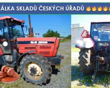 Do 18.7.2019 Výběrové řízení na prodej traktoru Zetor 9641 Forterra. Min. kupní cena 156.400 Kč, ID580117